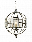 Broxton Orb Chandelier design by Currey & Company