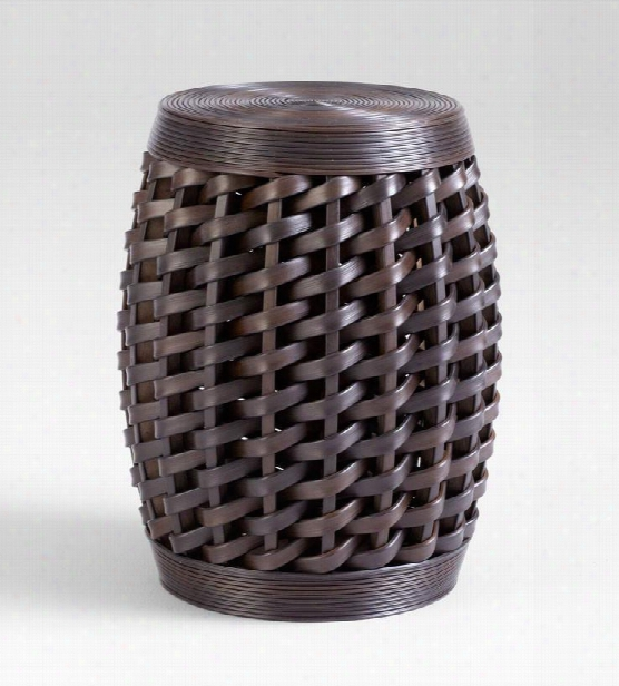 Woven Sienna Stool Design By Cyan Design