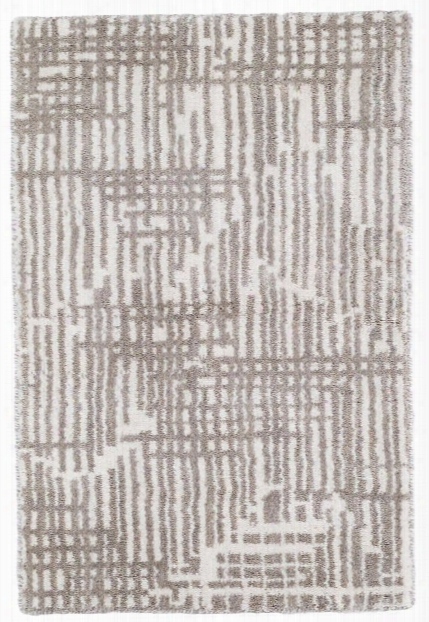 Wright Grey Loom Knotted Wool Rug Design By Dash & Albert
