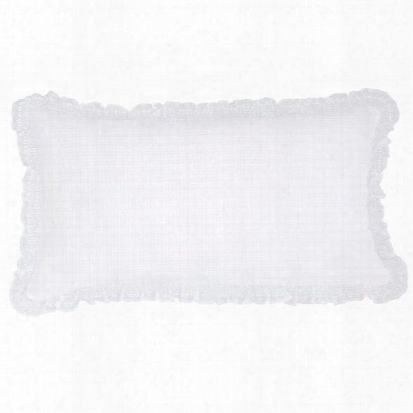 Wruffle White Matelassã© Decorative Pillow Design By Pine Cone Hill