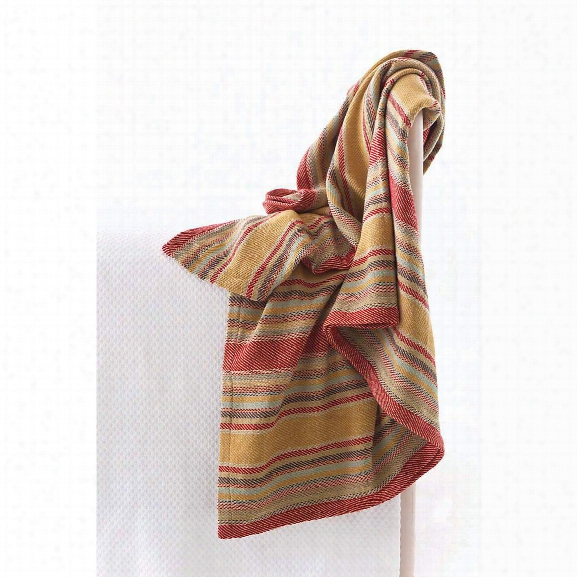 Wyatt Woven Cotton Throw By Dash Albert