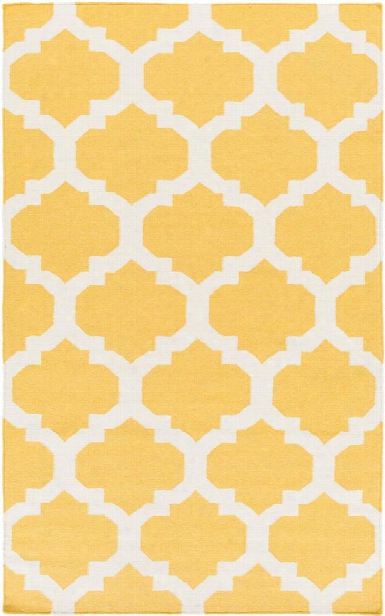 York Rug In Butter And Ivory Design By Surya