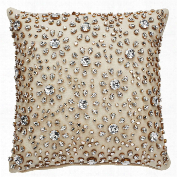 Yorkville Pillow In Neutral Design By Kate Spade
