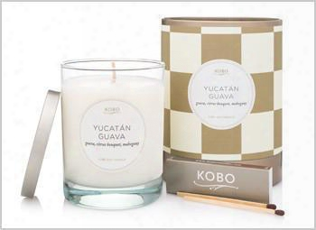 Yucatã¢n Guav A Candle Design By Kobo Candles