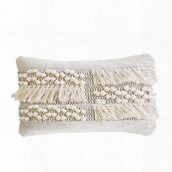 Zahra Hand Woven Pillow Design By Pom Pom At Home