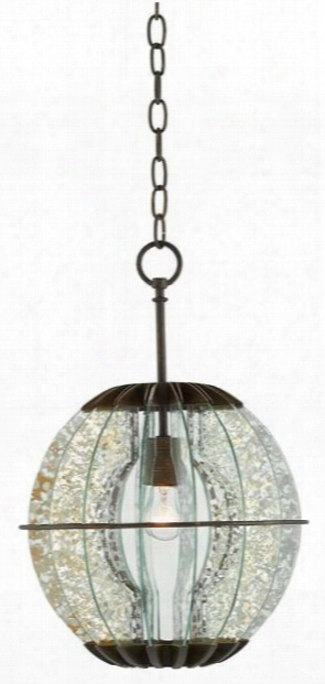 Zanzibar Pendant/flush Design By Currey & Company