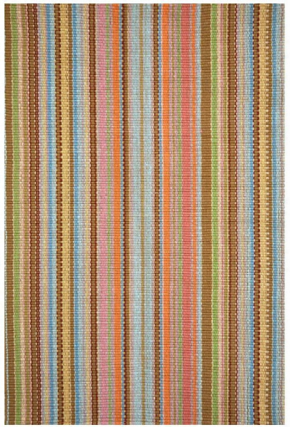 Zanzibar Ticking Indoor/outdoor Rug Design By Dash & Albert