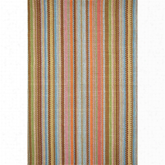 Zanzibar Ticking Woven Cotton Rug Design By Dash & Albert