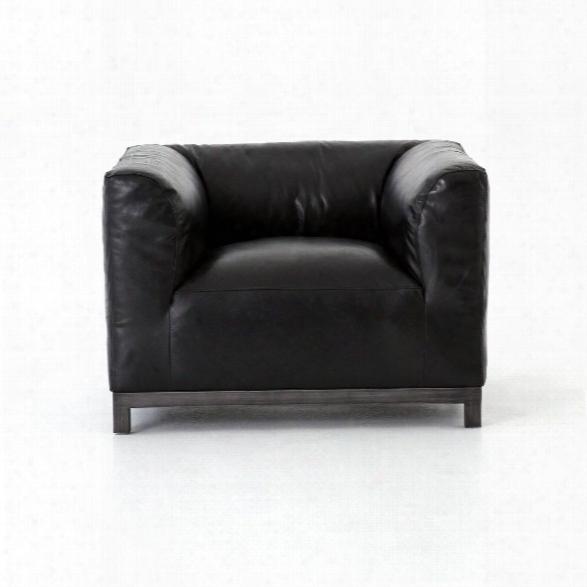 Zenith Chair In Rider Black