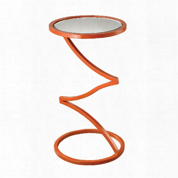 Zig-zag End Table Design By Lazy Susan