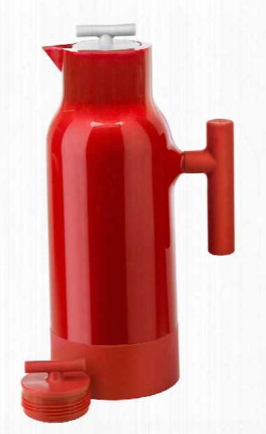 Accent Coffee Pitcher In Red Design By Sagaaform