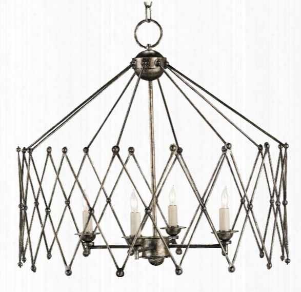 Accordion Chandelier Design By Currey & Company