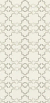 Acorn Gate Wallpaper In Ivory Design By Kreme