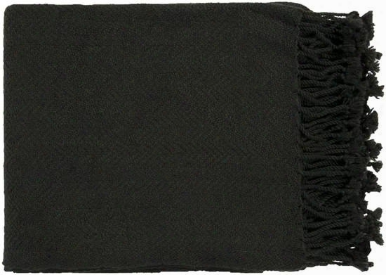 Acrylic Throw In Ebony From The Turner Collection By Surya