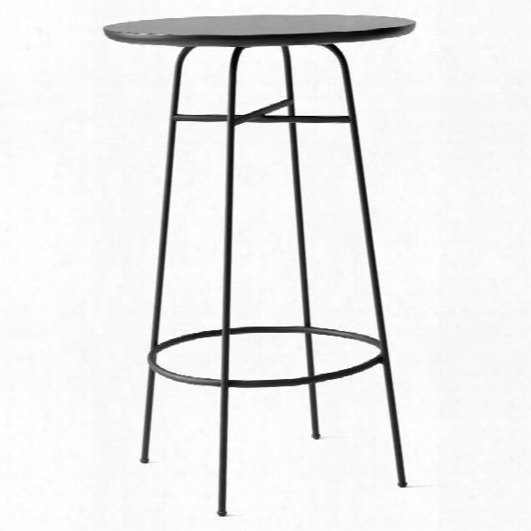 Afteroom Bar Table In Black Laminate Design By Menu