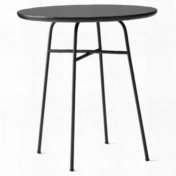 Afteroom Cafe Table In Black Laminate Design By Menu