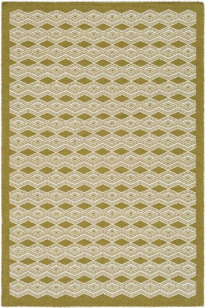 Agostina Rug In Lime And Cream Design By Surya