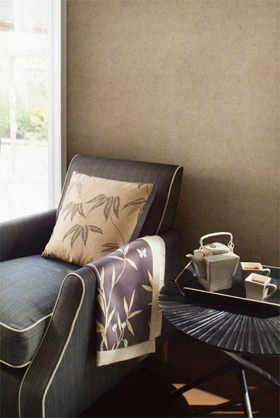 Ahliya Copper Pewter Texture Wallpaper Design By Brewster Home Fashions