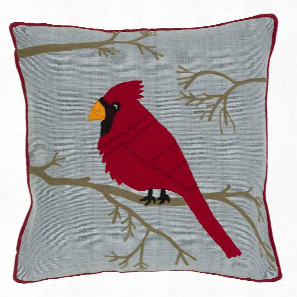 Cardinal Indoor/outdoor Pillow Design By Fresh American