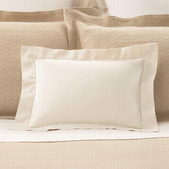 Carina Ivory Decorative Pillow Design By Luxe