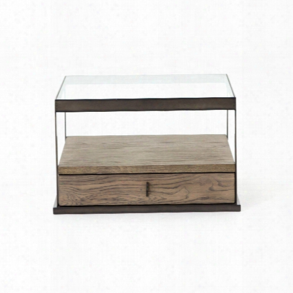 Carlson Bunching Table In Monument Grey
