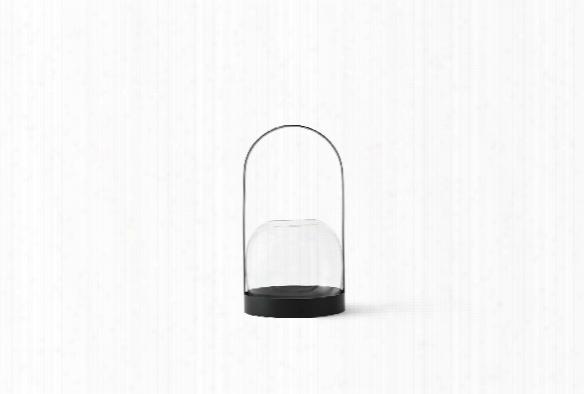 Carrie Candle Holder/vase In Black Design By Menu