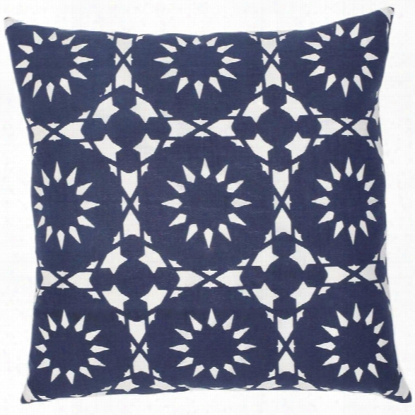 Casablanca Navy Pillow Design By Allem Studio