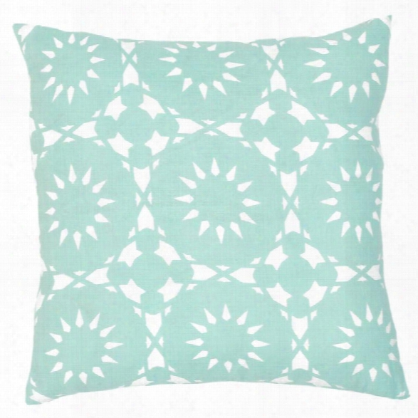 Casablanca Seafoam Pillow Design By Allem Studio