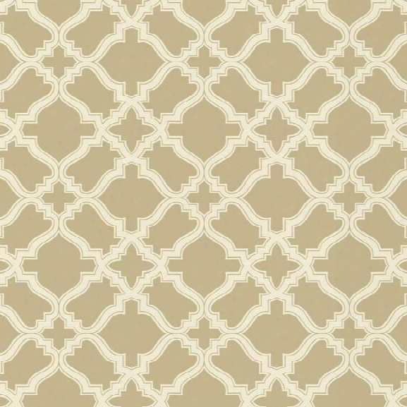 Cathedral Wallpaper In Beige Design By Carey Lind For York Wallcoverings