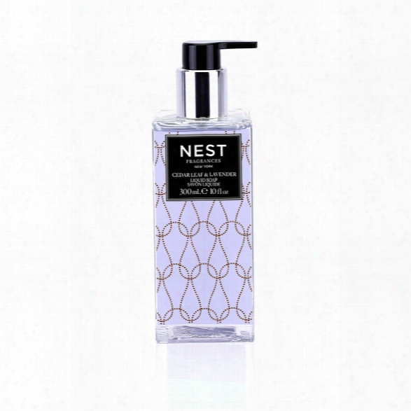 Cedar Leaf & Lavender Liquid Soap Design By Nest Fragrances