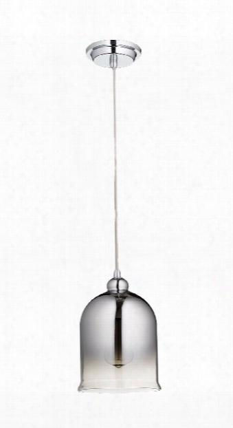 Celia 1 Light Pendant In Chrome Design By Cyan Design