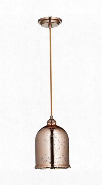 Celia 1 Light Pendant In Satin Copper Design By Cyan Design