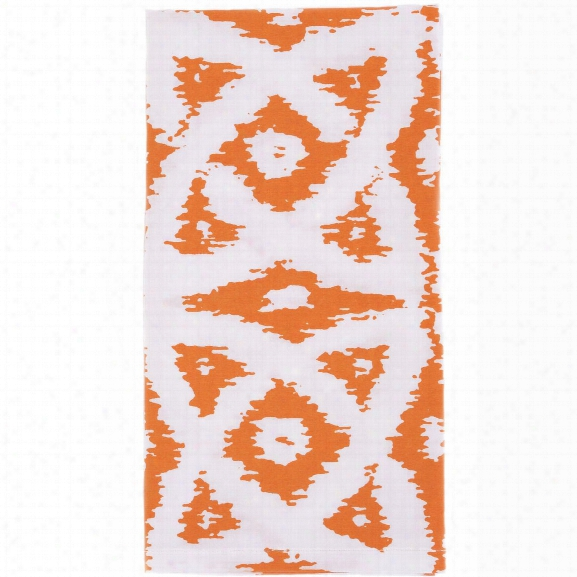 Celtic Orange Napkins Set Of Four Design By Allem Studio