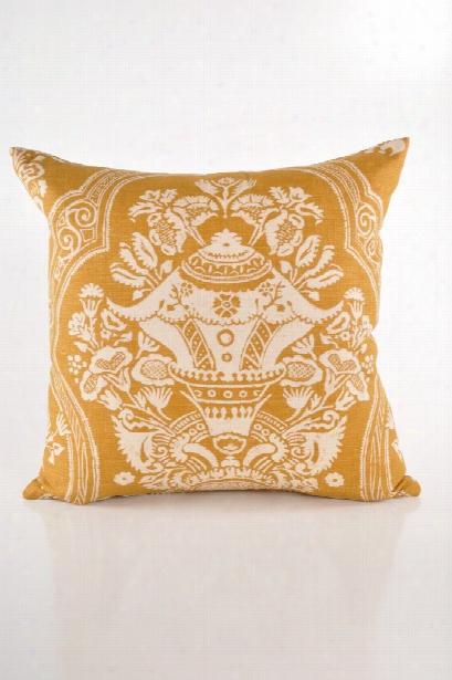 Centerpiece Gold Pillow Design By Baxter Designs
