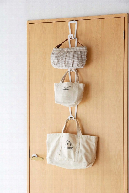 Chain Joint Bag Hanger In Various Colors Design By Yamazaki
