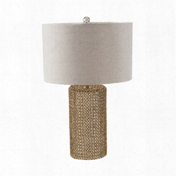 Chain Mail Raindrop Table Lamp Design By Lazy Susan