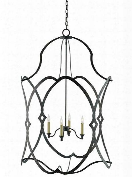Charisma Large Lantern Design By Currey & Company