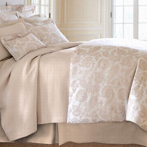 Chinois Damask Sandstone Duvet Cover Design By Luxe