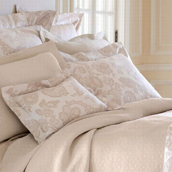Chinois Damask Sandston Pillowsham Design By Luxe
