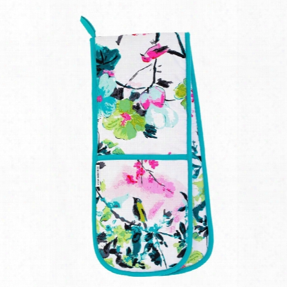 Chinoiserie Peony Double Oven Glove Design By Designers Gui Ld