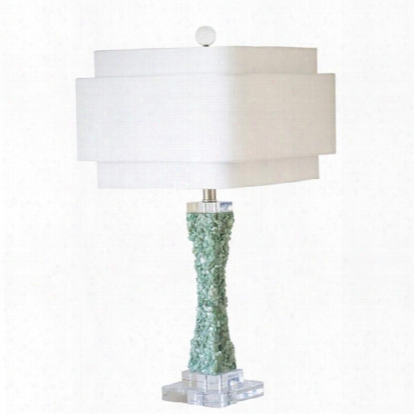 Cienega Table Lamp - Green Design By Couture Lamps