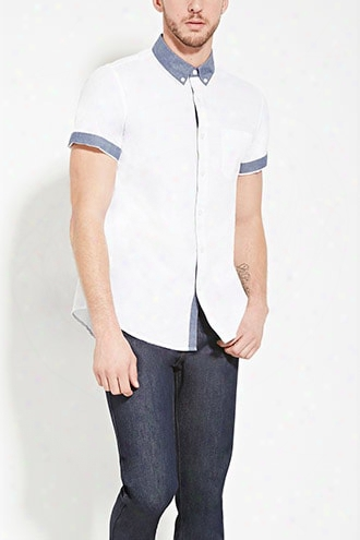 Chambray Collar Shirt