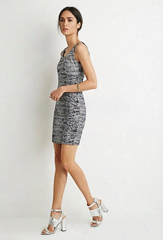 Contemporary Glitter Bodycon Dress