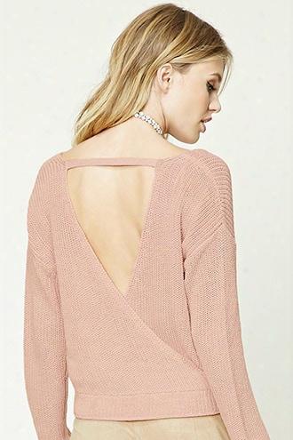 Contemporary Surplice Sweater