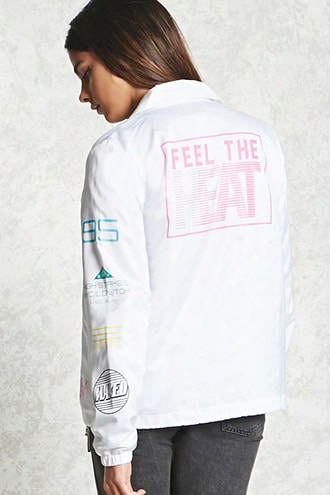 Feel The Heat Coach Jacket