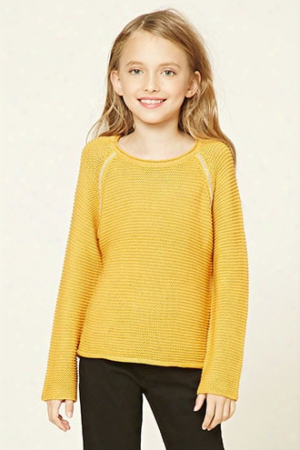 Girls Purl Knit Sweater (kids)