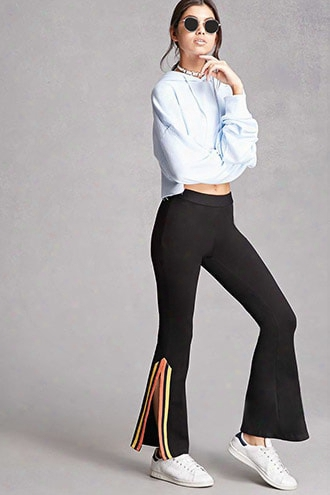 Korirl Striped Flared Pants