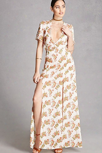 Nightwalker Floral Maxi Dress