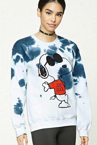 Snoopy Tie-dye Sweatshirt