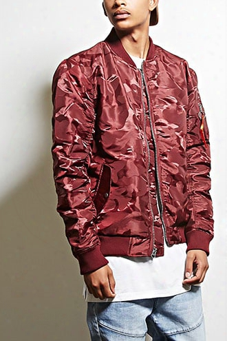 Victorious Camo Bomber Jacket